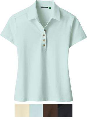 Polo shirt soybean - Ladies | green clothing